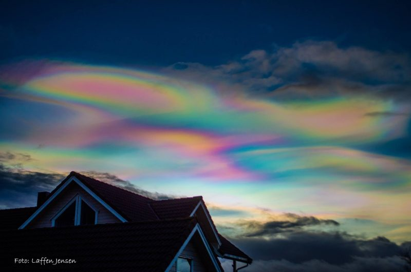 Wow! Polar stratospheric clouds