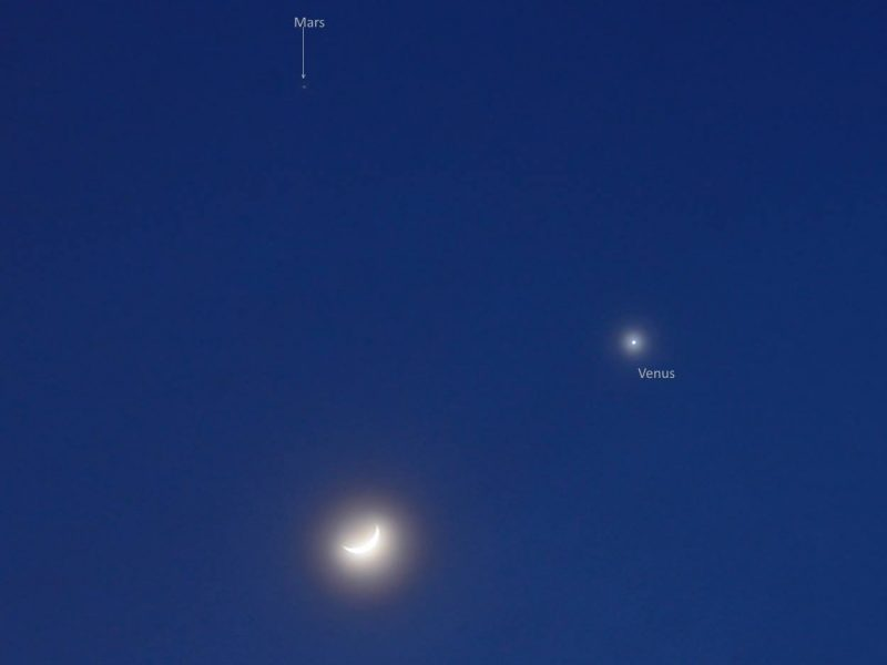planets in the sky on january first 2017 - photo #40