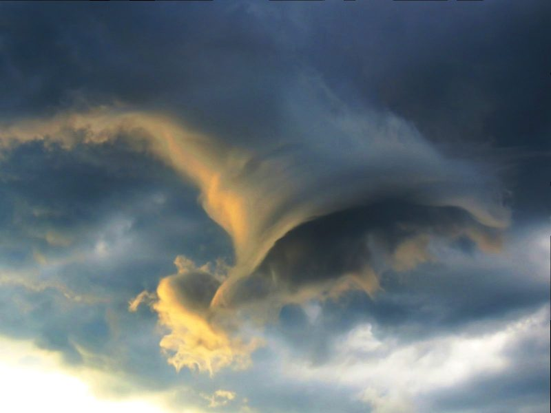 Funnel Cloud From Rio Last Night Today S Image Earthsky