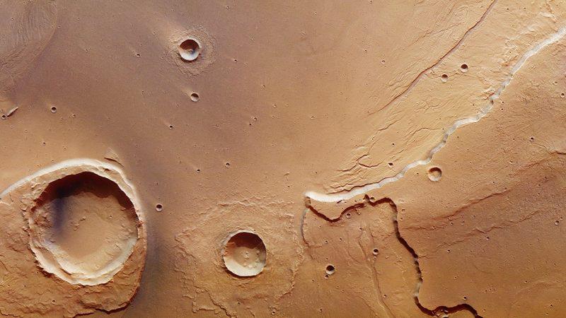 At the mouth of a Mars mega-flood