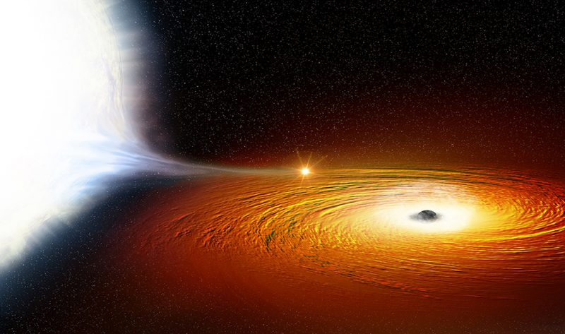 distance from earth black hole - photo #26