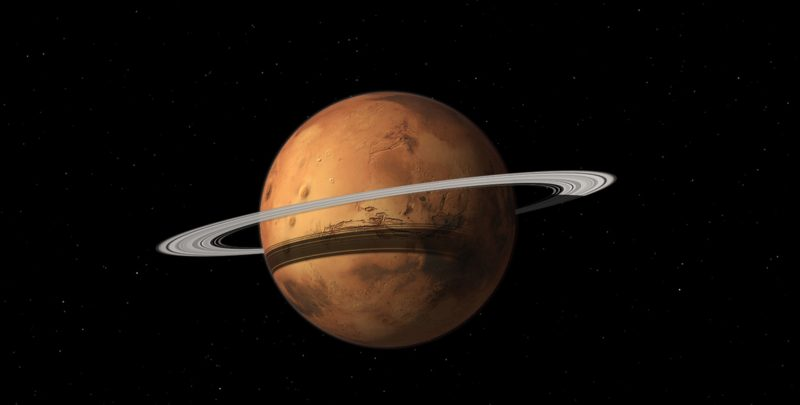 Does Mars sometimes have rings? | Space | EarthSky