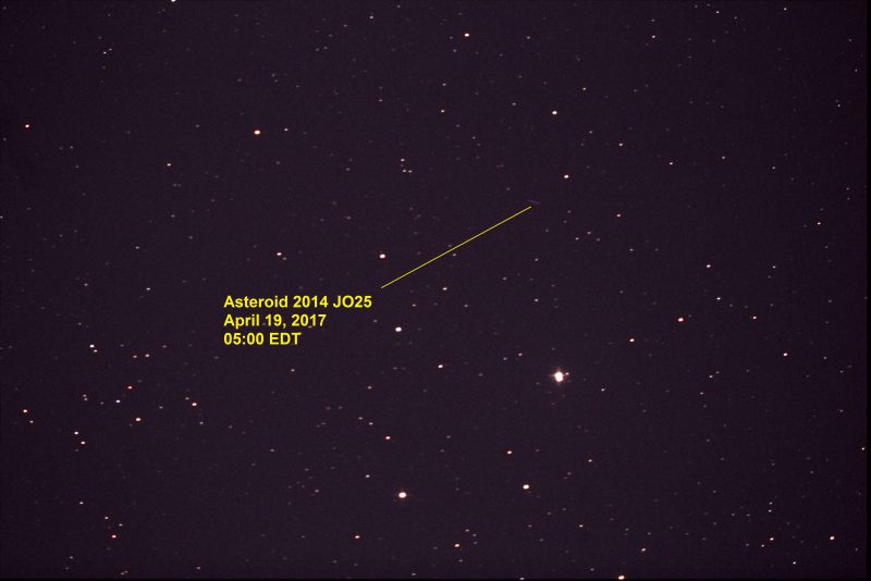 Photos of close asteroid 2014 JO25 | Space | EarthSky