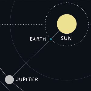 We Go Between Sun And Jupiter Tonight