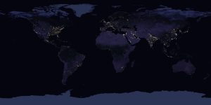 New Global Map Of Earth At Night Earth EarthSky - Us night map