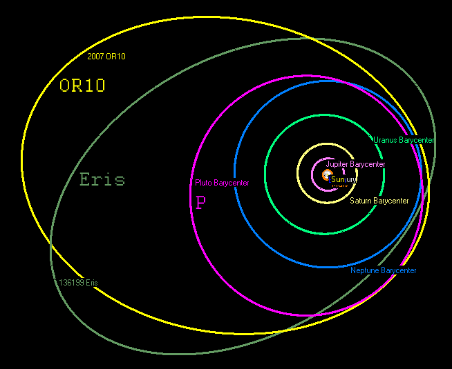 a moon for the 3rd largest dwarf planet space earthsky dwarf planet diagram  #11