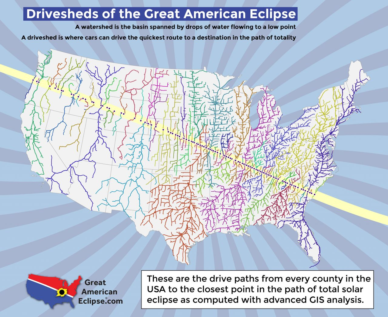 Go To Greatamericaneclipse Com And Look Down The Page For This Ilration To Use The Navigation Buttons On The Left And Right Sides Of The Gallery