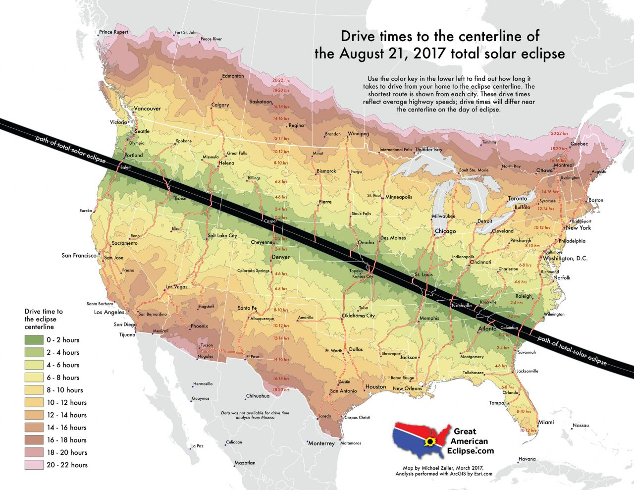 Eclipse 2017 En Houston >> How much traffic on eclipse day? | Astronomy Essentials ...