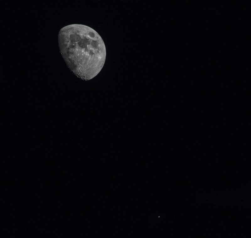 Last night's moon and Jupiter | Today's Image | EarthSky
