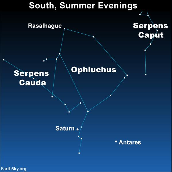 Ophiuchus 13th Constellation Of Zodiac Sky Archive Earthsky