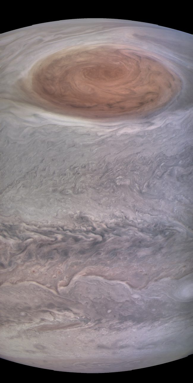wow junos superclose red spot images space earthsky