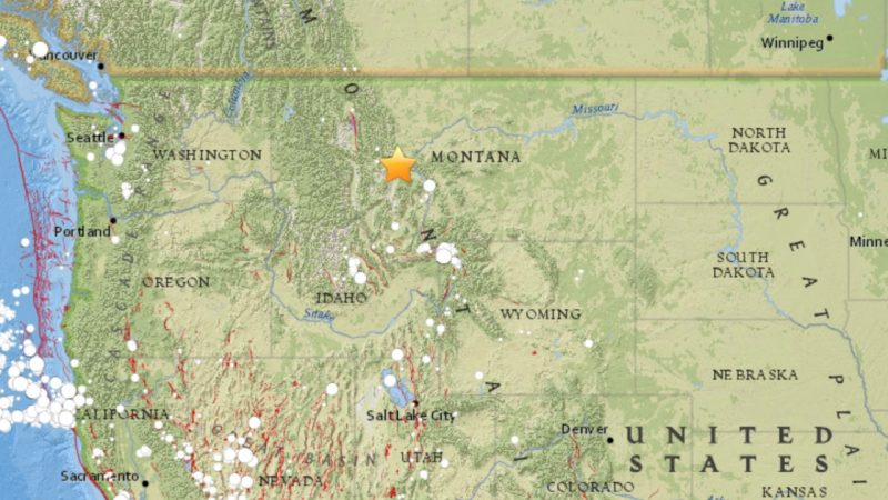Earthquake rocks Montana early Thursday