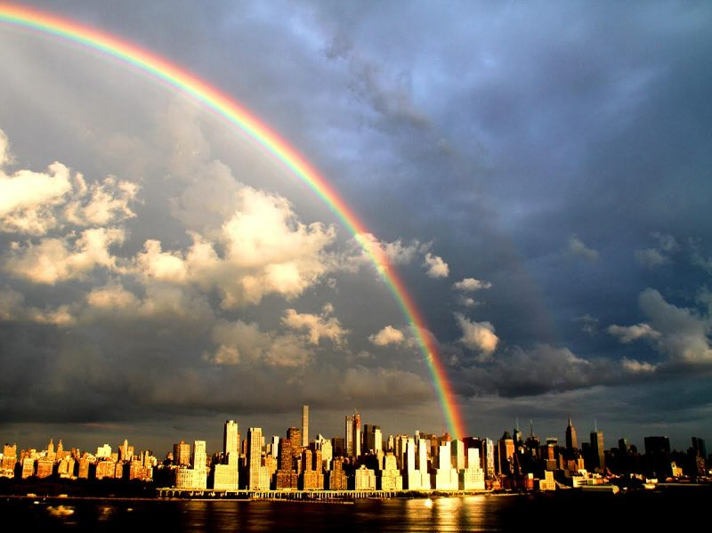 Why Are Rainbows Curved Earth Earthsky