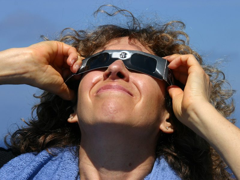 Those eclipse-viewing glasses you bought might be fake