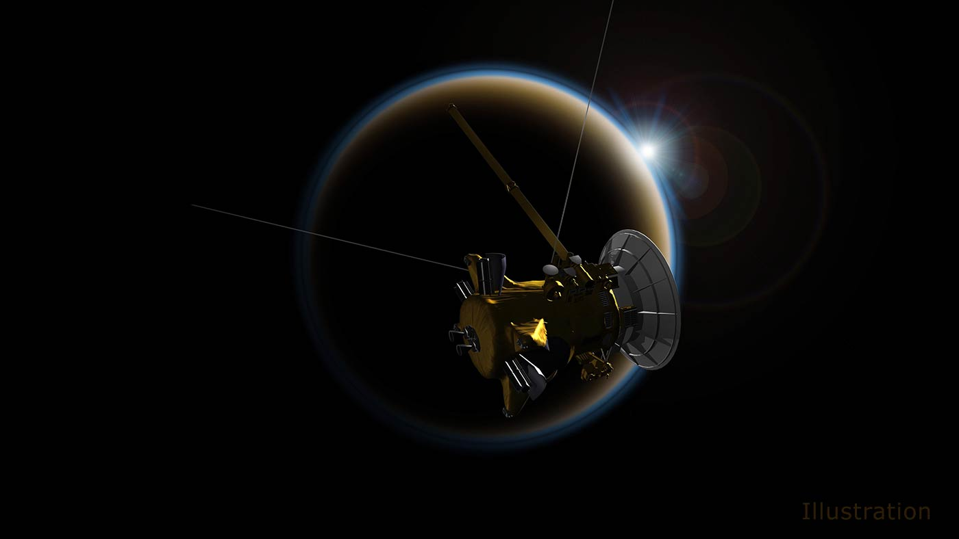Cassini prepares for last look at Titan | Space | EarthSky