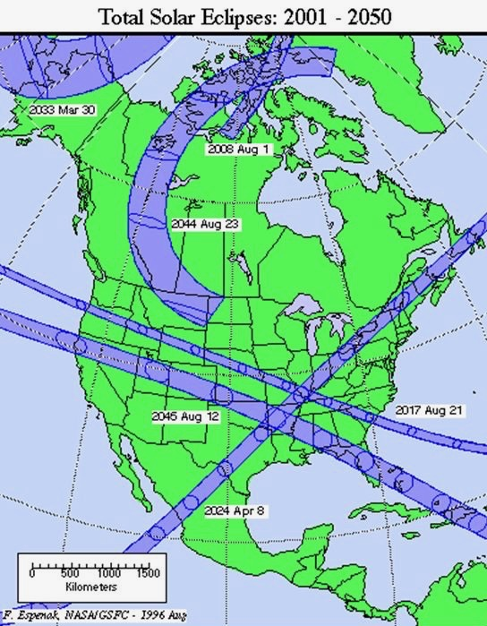 When's the next total solar eclipse for North America? | Astronomy