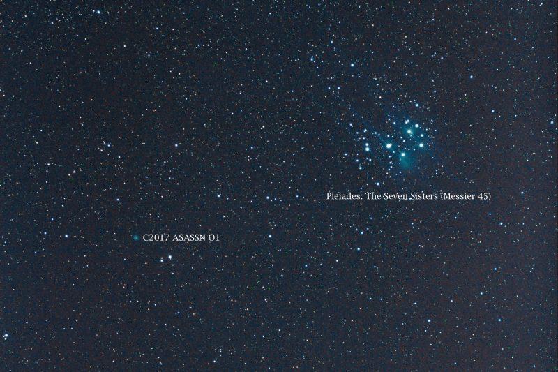 How to see binocular comet C/2017 O1