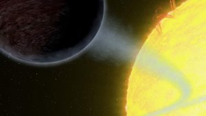 Astronomers find a pitch black planet space earthsky for Plante 94 pourcent