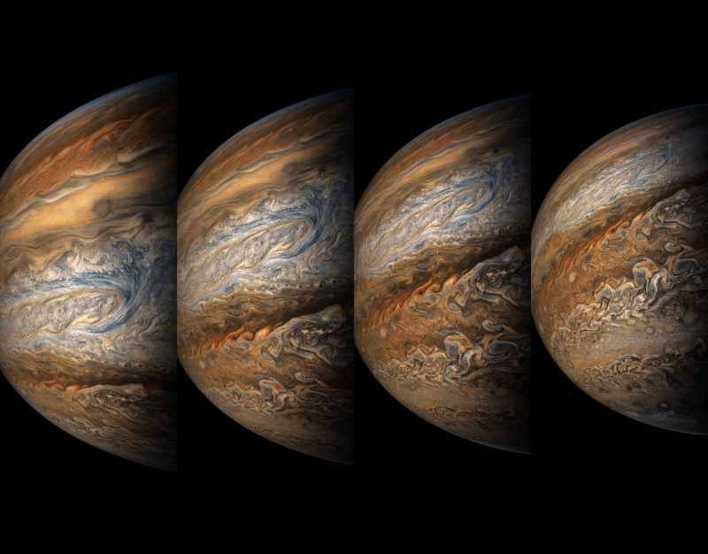 Juno sees Jupiter up-close and personal