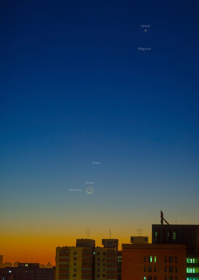 See it! Dance of planets before dawn | Human World | EarthSky