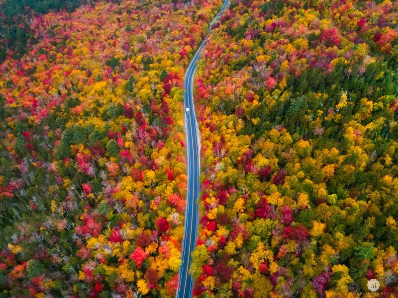 Fall colors in New Hampshire