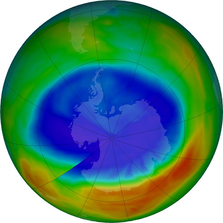 nasa ozone hole - photo #10