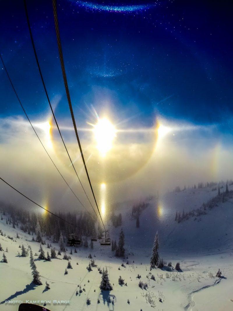 halo and sundogs over montana earth earthsky