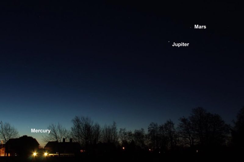 See 3 Planets In A Line Before Sunrise Tonight Earthsky