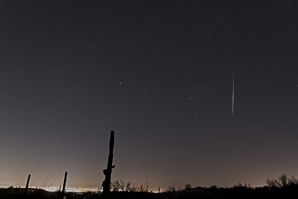 Geminid meteor shower lights up Tybee Island sky