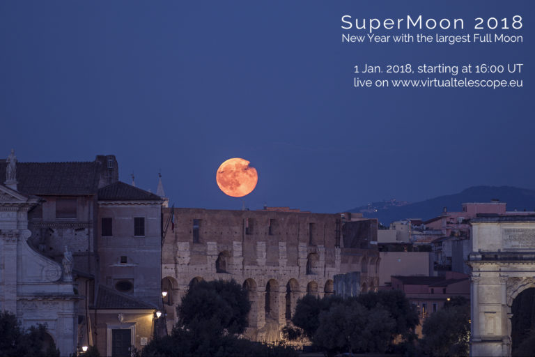 Year's closest supermoon on January 1-2