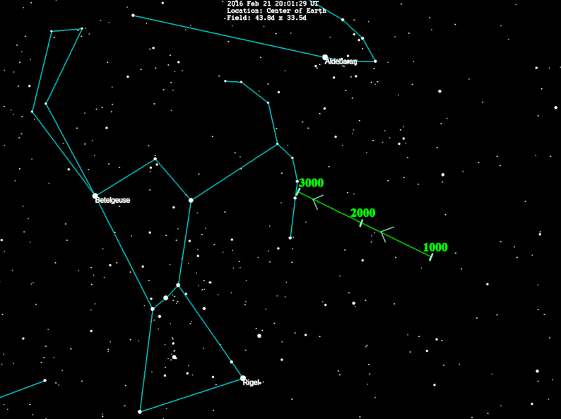 star hop from orion to planet 9 tonight earthsky