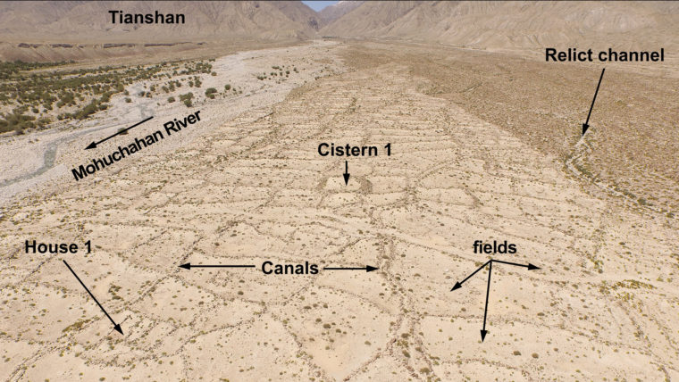 Drone recon finds ancient Silk Road irrigation system