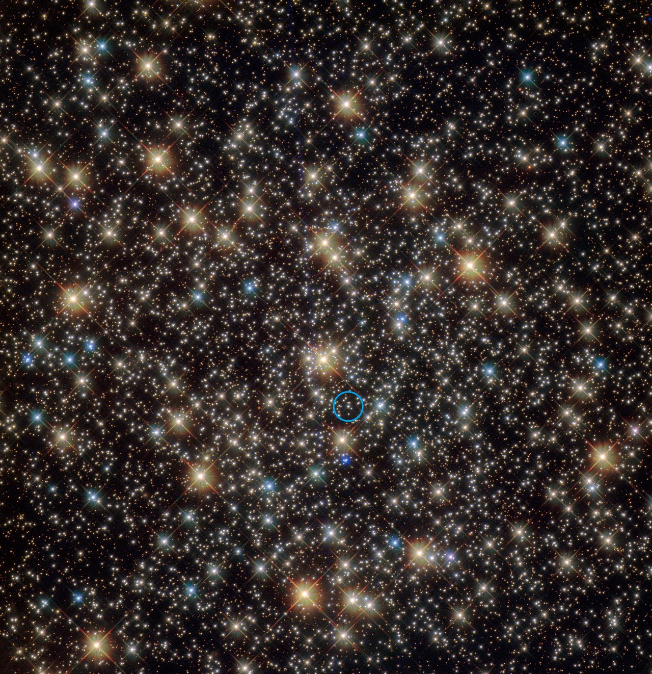 First inactive stellar-mass black hole found in a globular cluster
