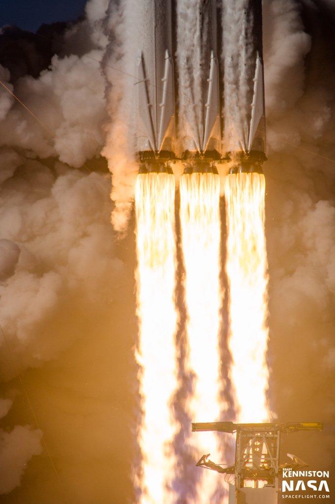 Elon Musk, on Falcon Heavy's triumphant launch   Space   EarthSky
