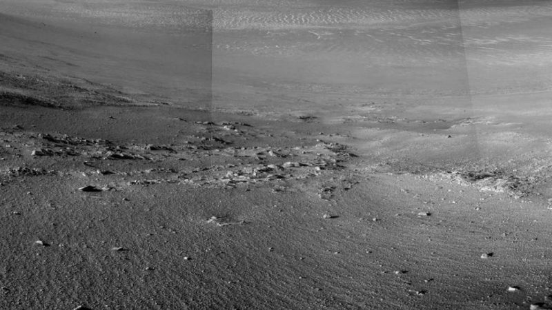 Mars rover finds possible rock stripes' | Human World ...