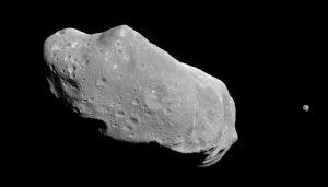 Asteroid Ida and its moon Dactyl