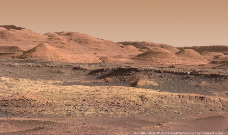 Stunning new Mars images, from Curiosity | Space | EarthSky