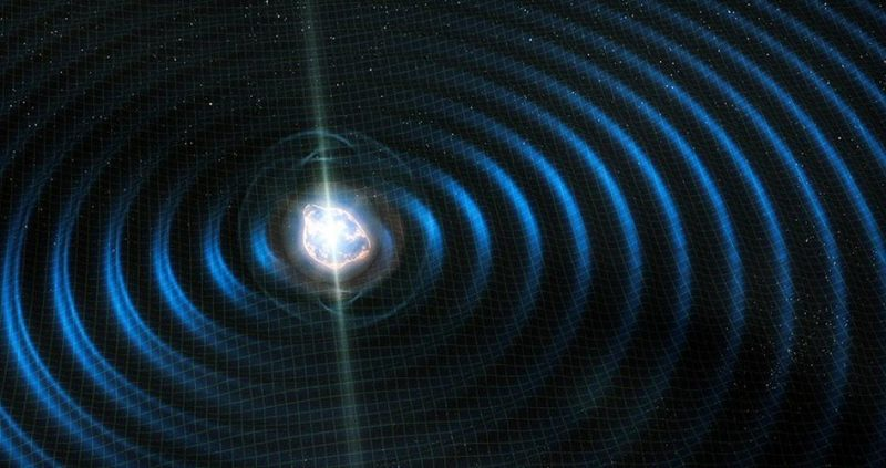 Scientists Seeking Continuous Gravitational Waves Space