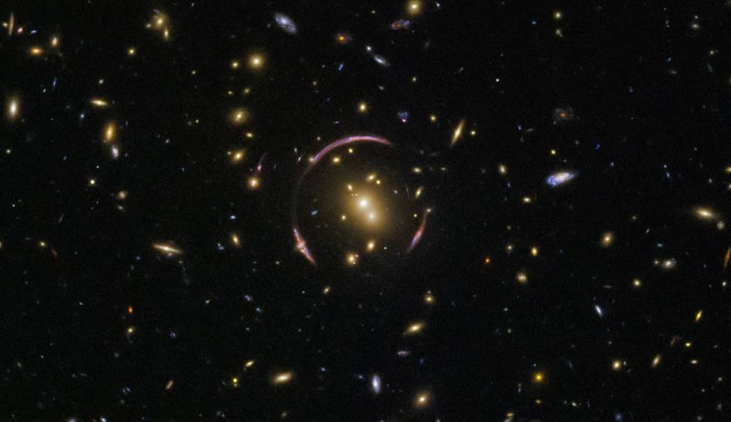Hubble finds an Einstein ring Einstein-ring-1-e1523365887754