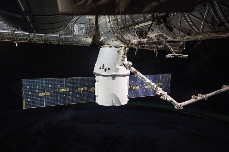 Watch SpaceX Dragon depart from ISS May 2 Spacex-dragon-cargo-iss-e1525115460950