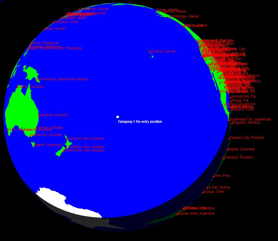 Tiangong-1's fiery and ocean plunge | Space | EarthSky on map of china south china sea, map of china yangtze, map of china to america, map of china nanking, map of china yemen, map of china philippines, map of china with hong kong, map of china manchuria, taiwan japan south korea, map of china bangladesh, map of china communism, china and korea, map of china and tibet, map of china shanhai, map of china history, map of china india, map of china great wall of china, map of china world, map of china pyongyang, map of china kazakhstan,