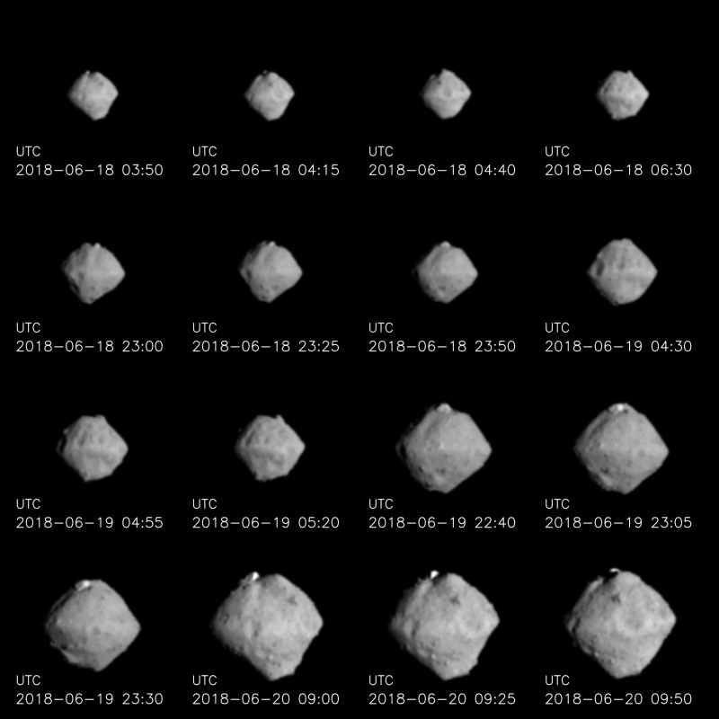 Hayabusa 2 Arrives At Asteroid Ryugu Space Earthsky