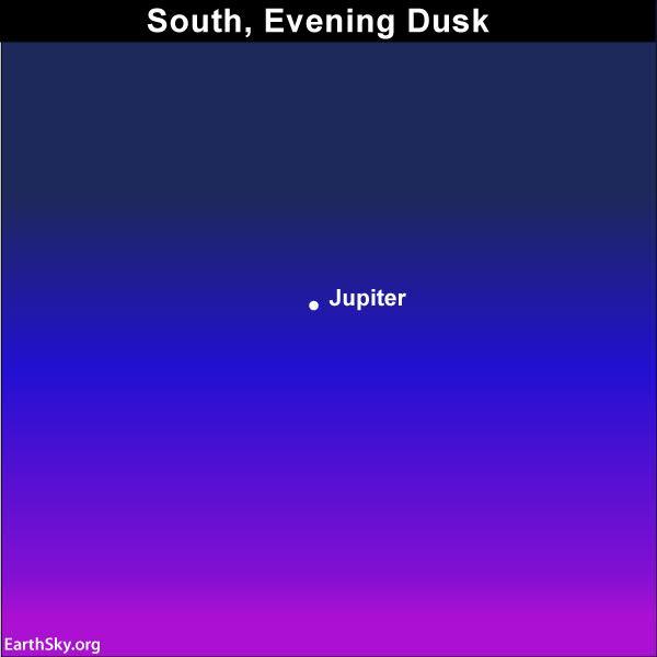 Jupiter ends retrograde on July 10-11 | Sky Archive | EarthSky