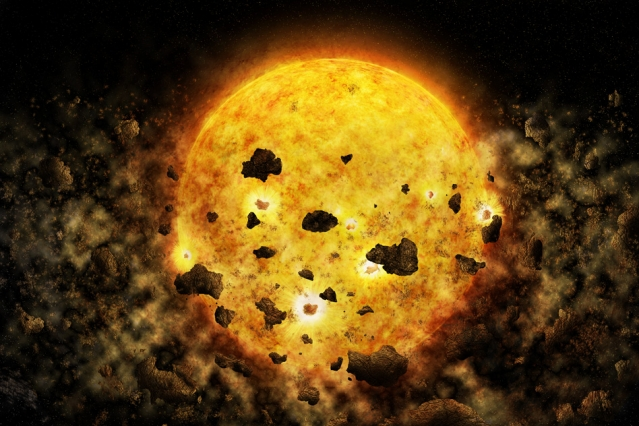 young star caught eating its planet space earthsky