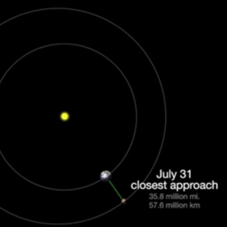 Mars closest to Earth on July 30-31 | Tonight | EarthSky