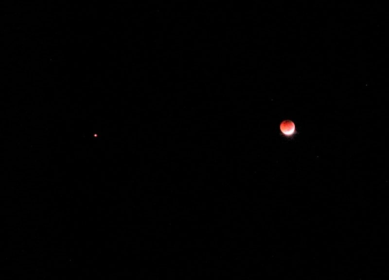 why is the moon red tonight july 28 2018 - photo #39
