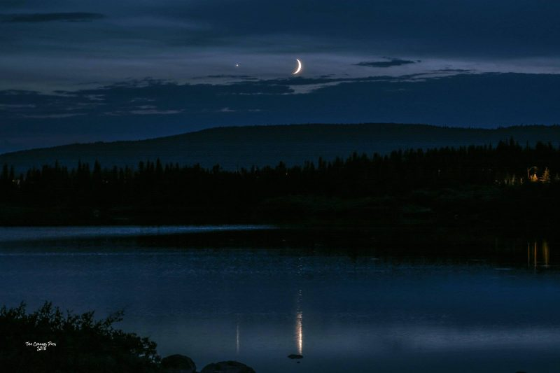 75c90c8311 Above  Last month s moon and Venus – July 15