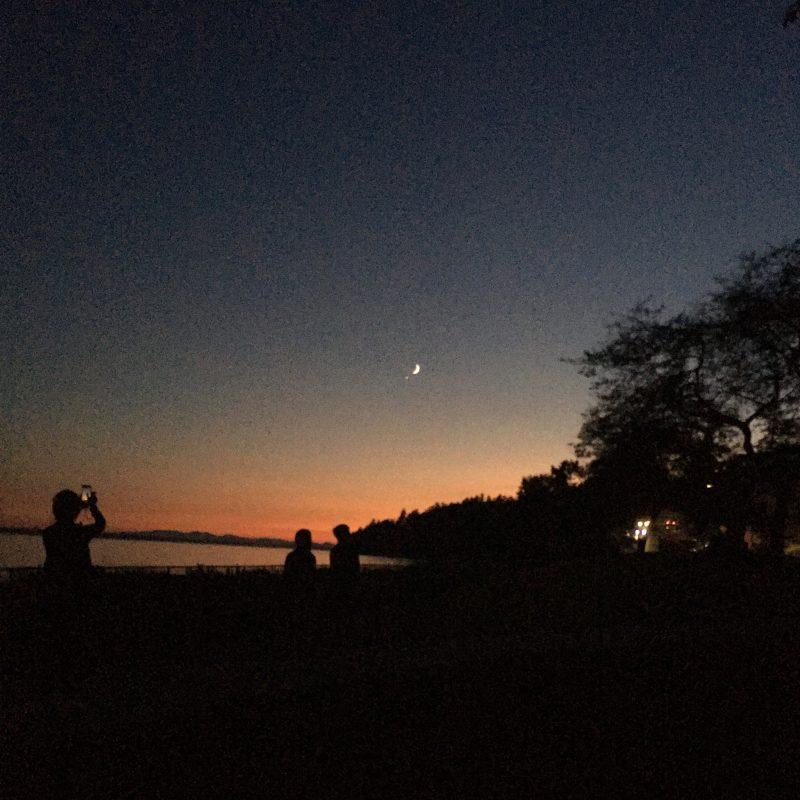 See it! Last night's moon and Venus | Astronomy Essentials ...