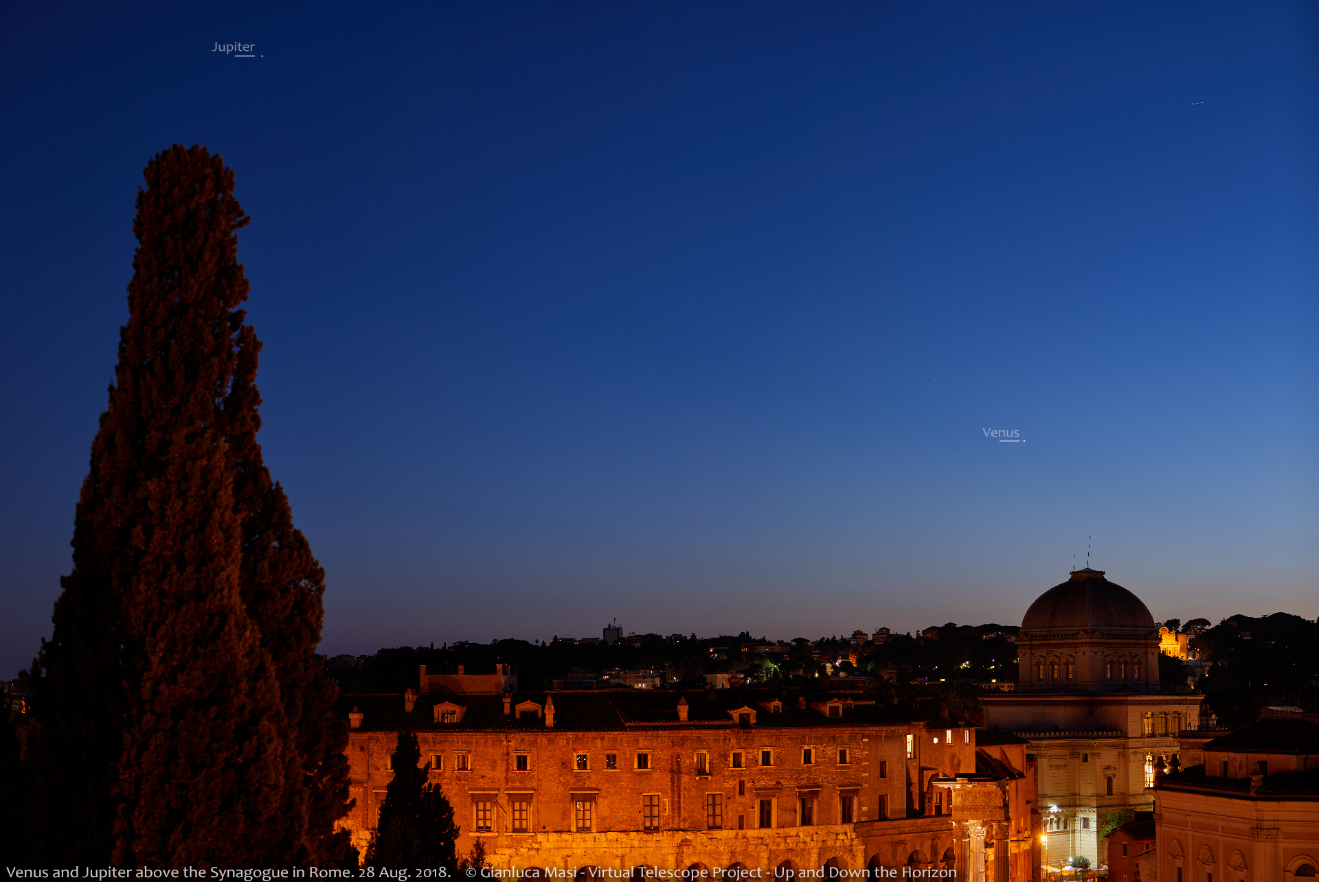 8 Planets In 1 Night From Rome Astronomy Essentials Earthsky