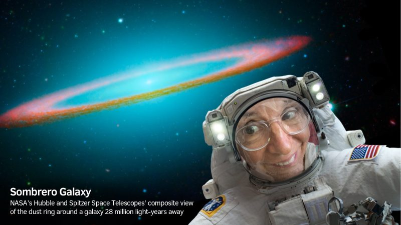 NASA Selfies app lets you play astronaut